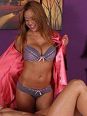 big tit asian masseuse Mia Lelani stripping down